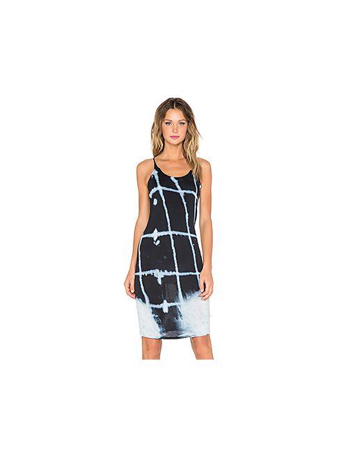 NYTT | Женское Синее Платье-Майка Window Pane