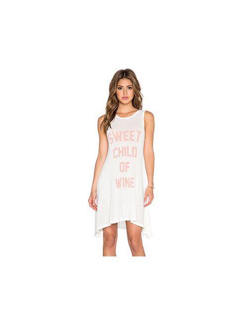 The Laundry Room | Женское Белое Платье-Рубашка Sweet Child Of Wine