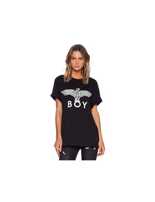 Boy London   Женская Черный Футболка С Рисунком Eagle Boy