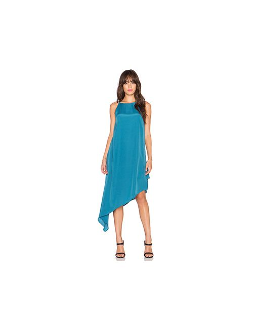 Three of Something | Женское Зелёное Платье Infinity