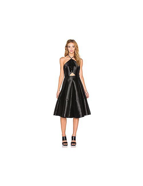 ASILIO | Женское Чёрное Платье Миди Fatal Attraction