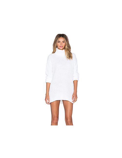 Endless Rose | Женское Белое Платье Свитер Ginny Sweater Dress