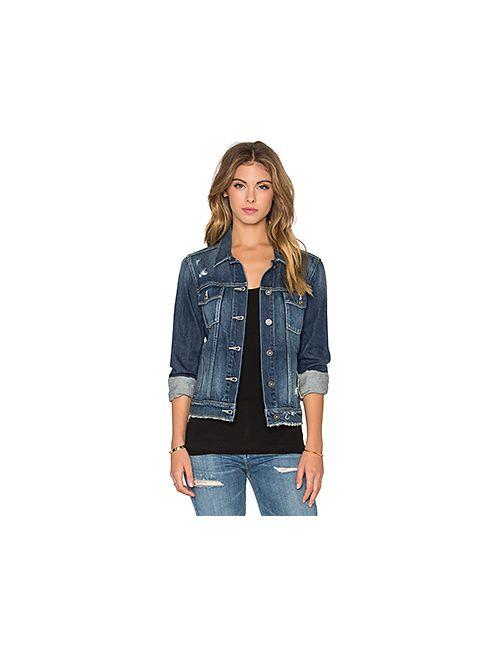 Paige Denim | Женская Синяя Куртка Rowan