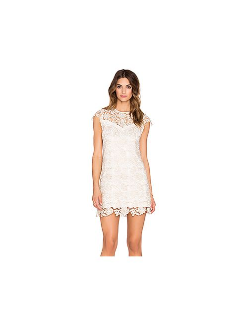 SAYLOR | Женское Белое Платье Eleanor