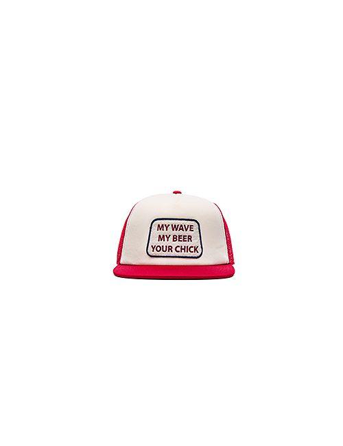 Ambsn | Мужская Красная Шляпа Mine
