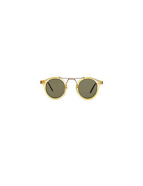 Spitfire | Мужские Жёлтые Солнцезащитные Очки Pr 52