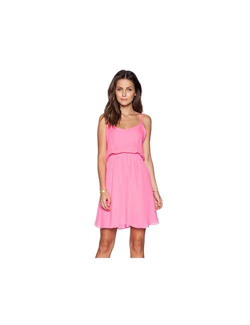 Myne | Женское Розовое Платье Rose
