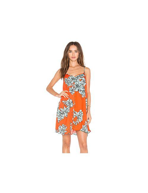 Minkpink | Женское Оранжевое Платье Under Your Spell