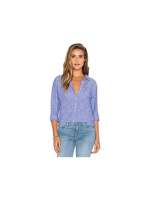Rails | Женская Синяя Рубашка На Пуговицах Charli