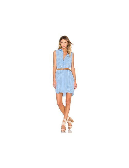 Equipment | Женское Синее Платье Lanie