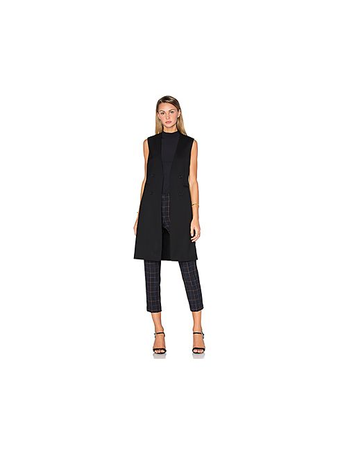 Theory | Женское Чёрный Aggie Long Vest