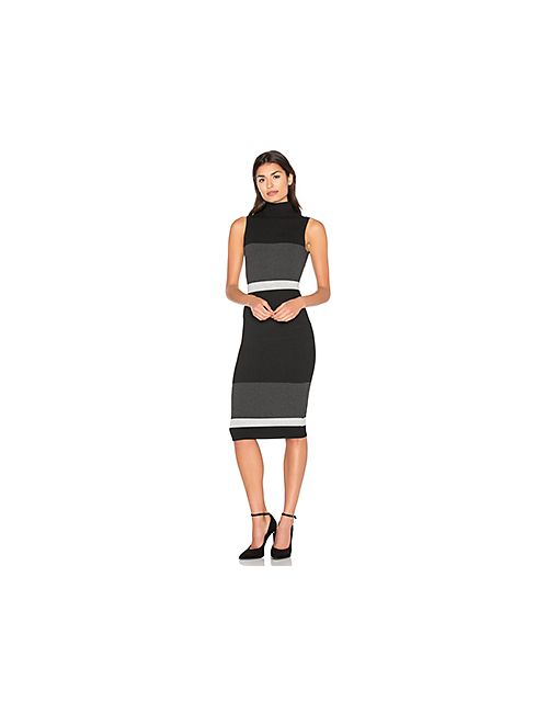 Twenty | Женское Чёрный Bold Block Dress