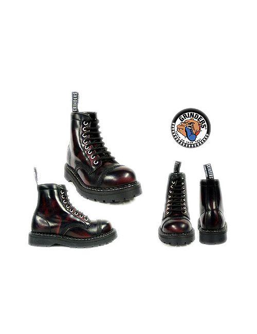 Grinders | Женские Красные Ботинки Утепленные