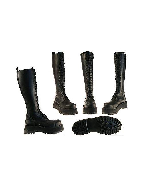 КВ-4 | Женские Чёрные Ботинки Женские