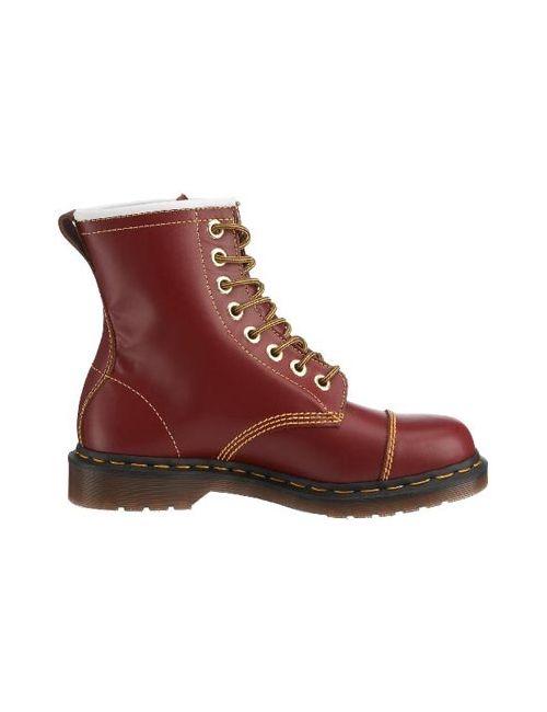 Dr. Martens | Женские Красные Ботинки