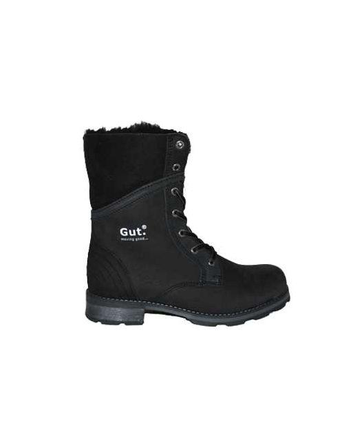Gut | Женские Чёрные Ботинки
