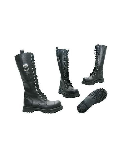 КВ-4 | Женские Чёрные Ботинки