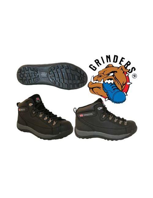 Grinders   Мужские Чёрные Ботинки