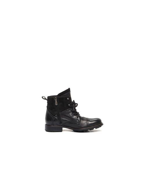 El Tempo | Мужские Чёрные Ботинки Мужские Утепленные