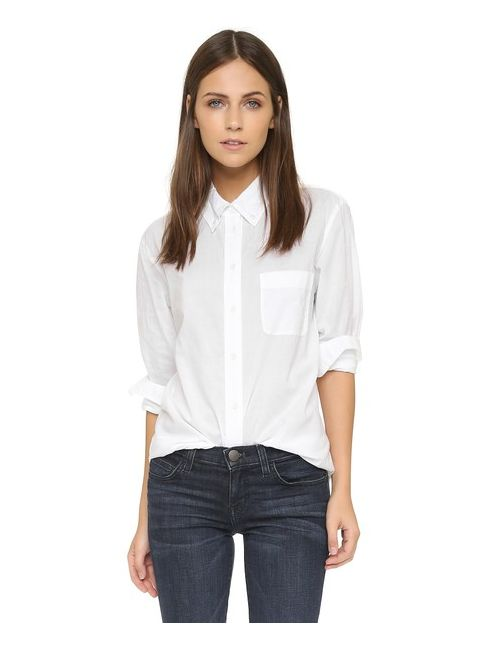 Equipment   Женская Серая Блуза Margaux