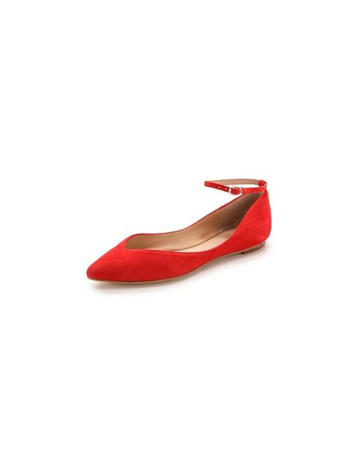 Belle By Sigerson Morrison | Женское Sable Ankle Strap Flats