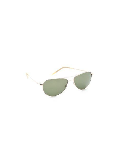 Oliver Peoples Eyewear   Женские Коричневые Солнцезащитные Очки Benedict