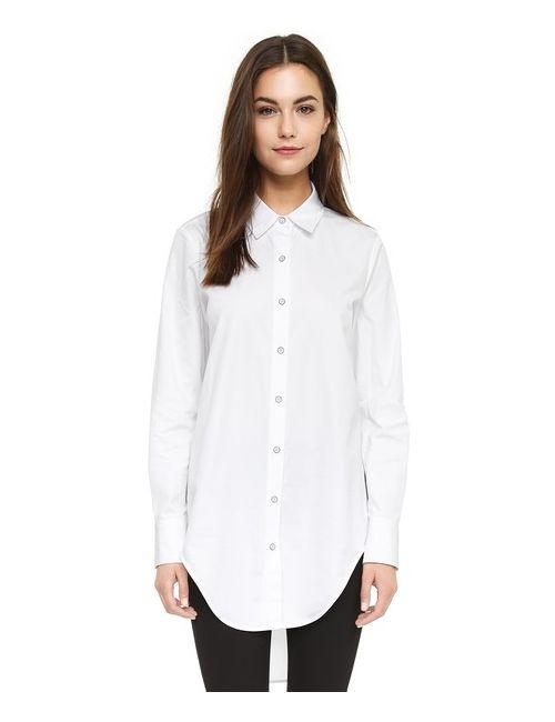 Rag & Bone | Женская Белая Рубашка Nightingale