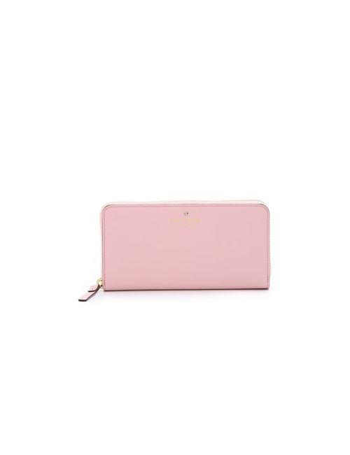 Kate Spade New York | Женский Розовый Кошелек Lacey С Круговой Молнией