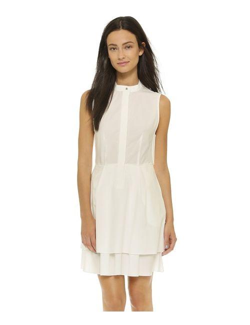 Derek Lam 10 Crosby | Женское Белое Платье-Рубашка На Пуговицах