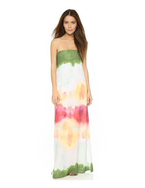 Alice + Olivia | Женское Многоцветное Платье Без Бретелек Yulissa