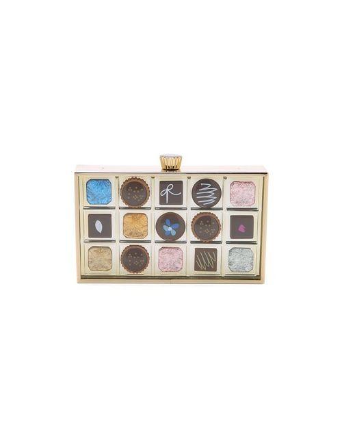Kate Spade New York | Женский Многоцветный Клатч В Виде Коробки Шоколада