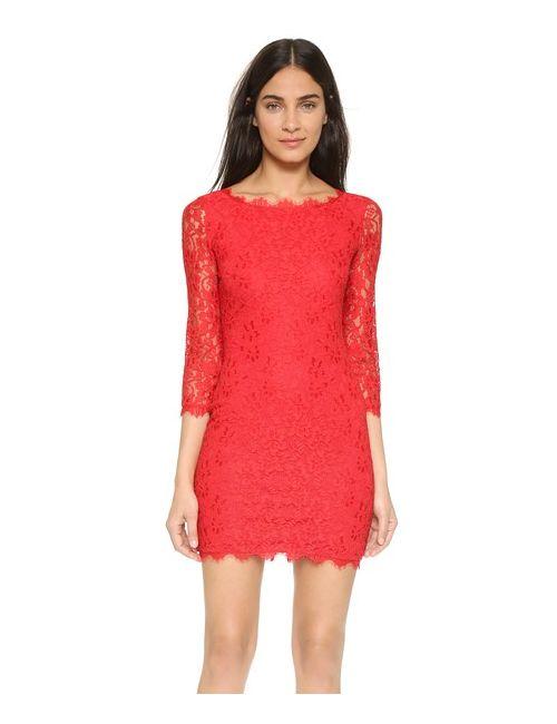 Diane Von Furstenberg | Женское Кружевное Платье Zarita