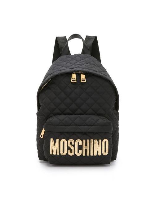 Moschino | Женский Чёрный Рюкзак