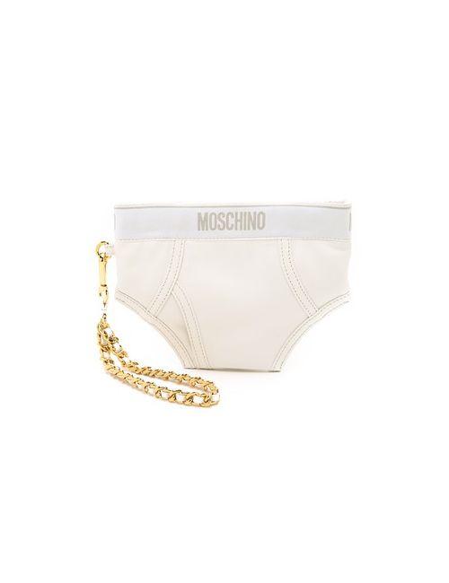 Moschino | Женская Белая Сумка Underwear