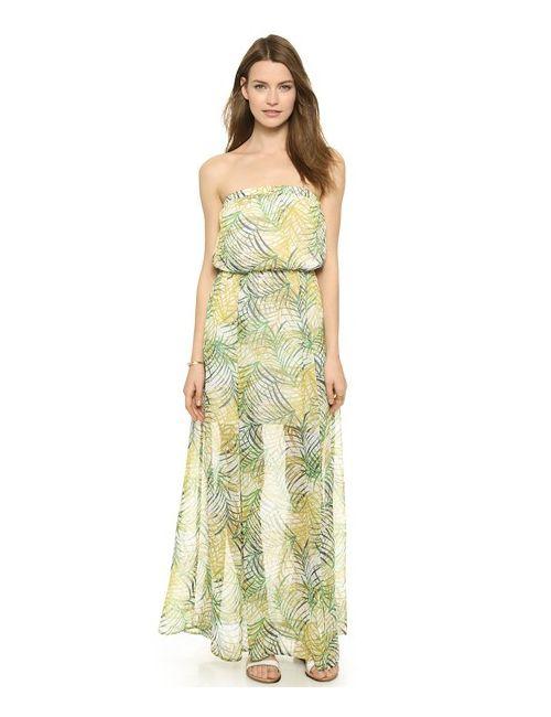 Bb Dakota | Женское Многоцветное Макси-Платье Piper Cool Grass