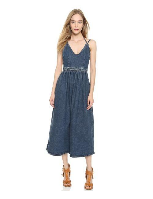 Rachel Comey   Женское Голубое Платье Palma
