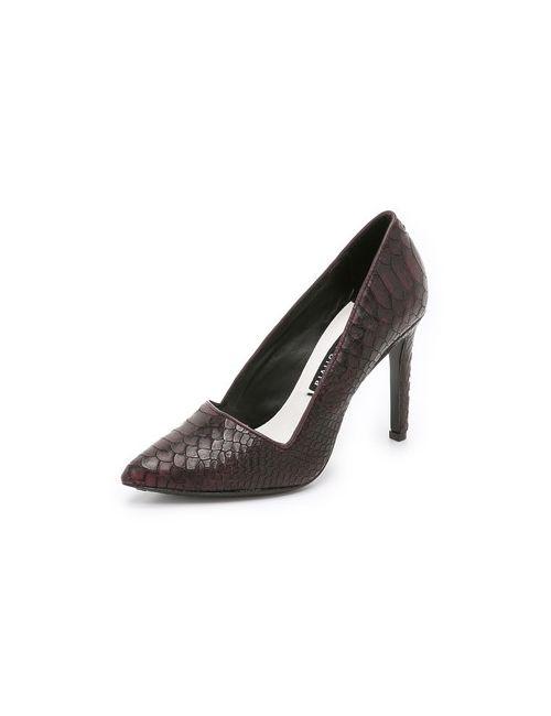 Alice + Olivia | Женские Красные Туфли-Лодочки Dina