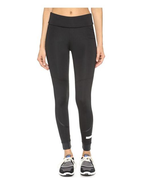 Adidas By Stella  Mccartney | Женские Голубы Спортивные Леггинсы С Отложной Вставкой