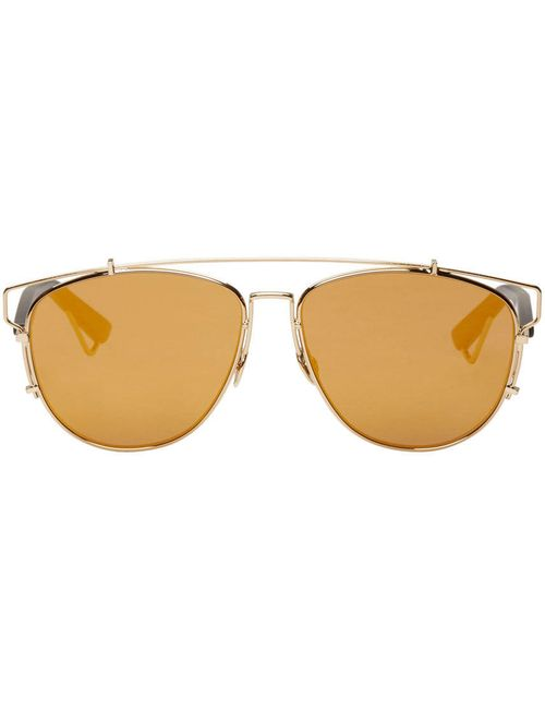 Dior | Золотой Gold Technologic Sunglasses
