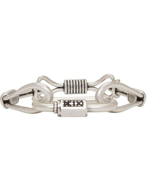 Ktz | Metal Silver Wire Bracelet