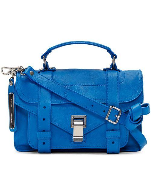 Proenza Schouler | Синий Blue Ps1 Tiny Satchel