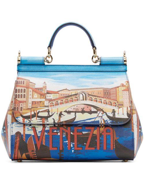 Dolce & Gabbana | 8q037 Venezia Dolce And Gabbana Blue Medium Venezia Miss