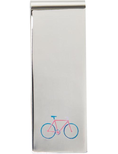 Paul Smith   Серебристый Silver Bicycle Money Clip