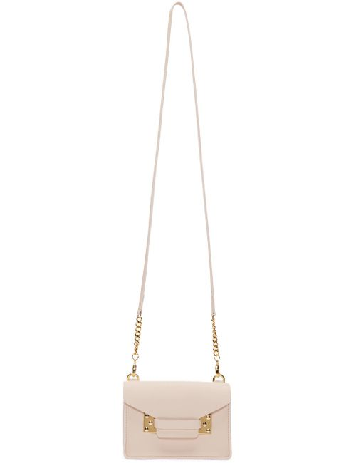 Sophie Hulme | Розовый Pink Nano Milner Envelope Bag