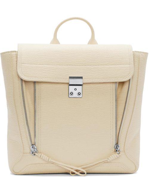 3.1 Phillip Lim | Milk Cream Leather Pashli Backpack