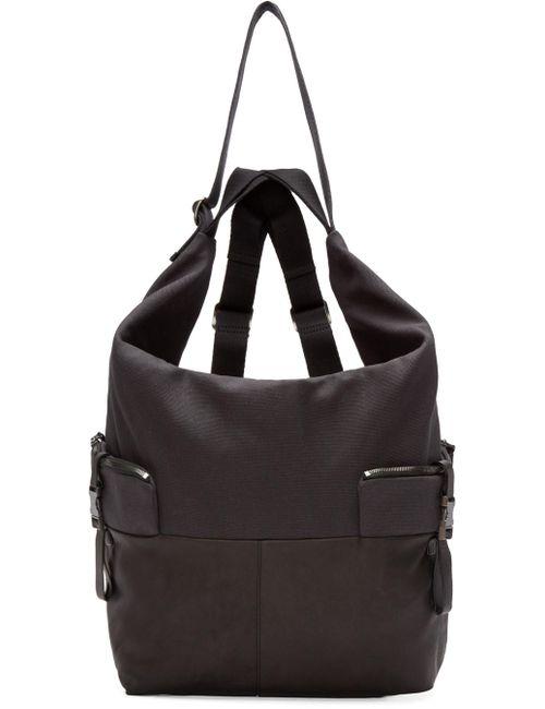 C te and Ciel   Чёрный Black Medium Ganges Alias Backpack