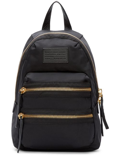 Marc by Marc Jacobs | Чёрный Black Domo Arigato Mini Packrat Backpack