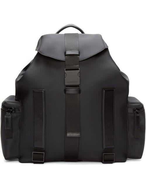 Dsquared2 | Чёрный Black Rubber Backpack