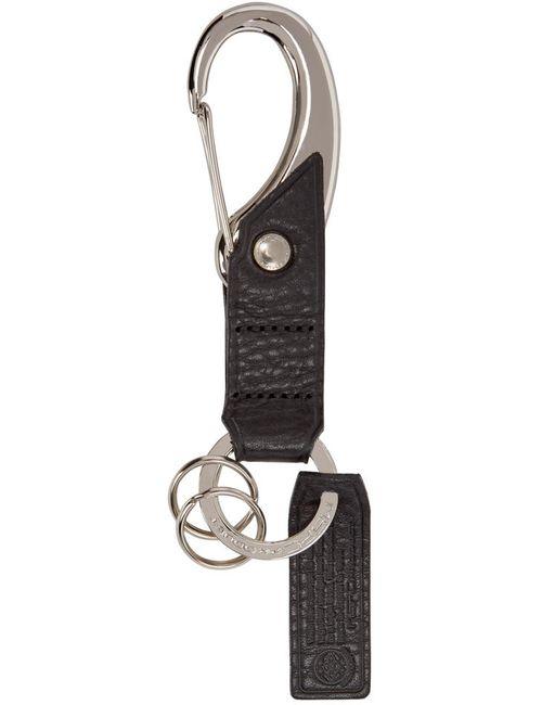 Master-Piece Co | Черный Black Leather Keychain