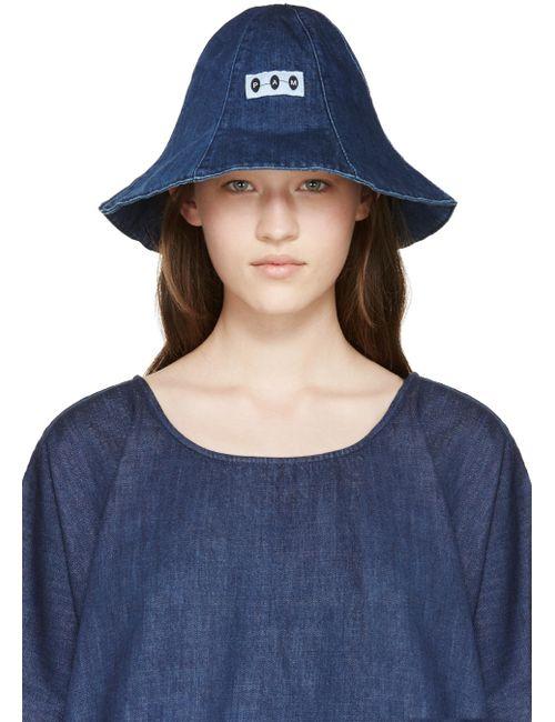 Perks And Mini | Синий Indigo Denim Bucket Hat